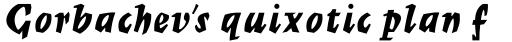Mercurius Script Std Bold sample