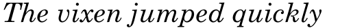 Monotype Century Schoolbook Pro Cyrillic Italic sample