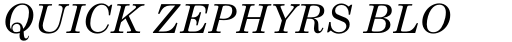 Monotype Century Schoolbook Pro Greek Italic sample