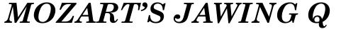 Monotype Century Schoolbook Pro Greek Bold Italic sample