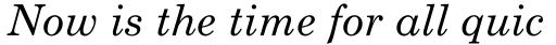 Monotype Century Schoolbook Std Italic sample