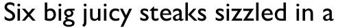 Gill Sans Cyrillic Pro Cyrillic Medium sample
