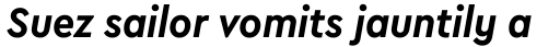 Cera Compact Pro Bold Italic sample