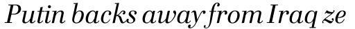 FF Cellini Std Regular Italic sample
