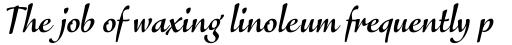 FF Eggo Std Bold Italic sample