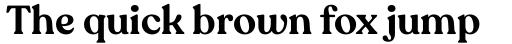 Recoleta Alt Semi Bold sample