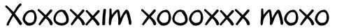 FF Oxmox Std Regular sample