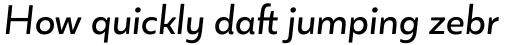 Blauth Regular Italic sample