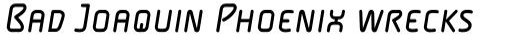 FF Alega Pro Regular Italic SC sample