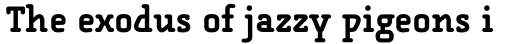 FF Alega Serif Std Bold sample