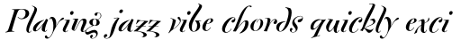 FF Fontesque Std Display Bold Italic sample