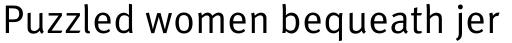 FF Meta Pro Regular sample