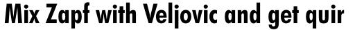 Futura BT Pro Condensed Bold sample