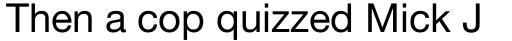 Neue Helvetica Pro 55 Roman sample