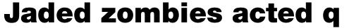 Neue Helvetica Pro 95 Black sample