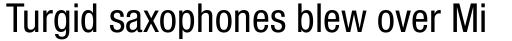 Neue Helvetica Pro 57 Condensed sample