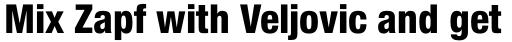 Neue Helvetica Pro 87 Condensed Heavy sample