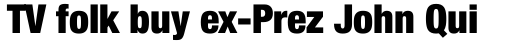 Neue Helvetica Pro 97 Condensed Black sample