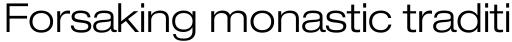 Neue Helvetica Pro 43 Extended Light sample