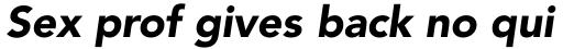 Avenir Pro 95 Black Oblique sample