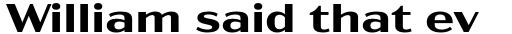 Acme Gothic Extrawide Semibold sample