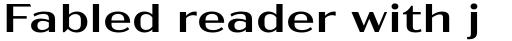 Acme Gothic Extrawide Regular sample