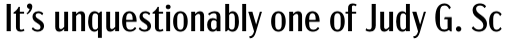 Acme Gothic Condensed Regular sample