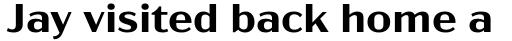 Acme Gothic Wide Semibold sample