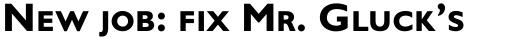 Gill Sans Bold SC OS sample