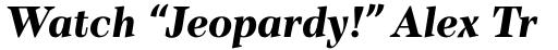 TT Barrels Extra Bold Italic sample