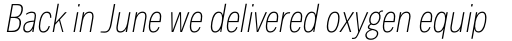 Body Text Slim Light Italic sample