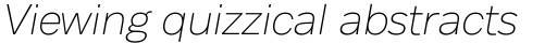 Body Text Fit Light Italic sample