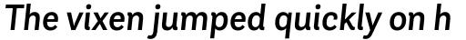 Andes Neue Alt 1 Medium Italic sample