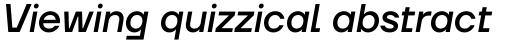 TT Firs Neue Medium Italic sample