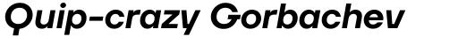 TT Firs Neue Demi Bold Italic sample