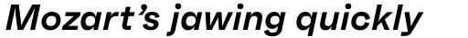 Faktum Semi Bold Italic sample