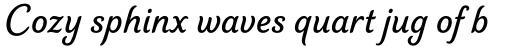 Elicit Script SemiBold Casual sample