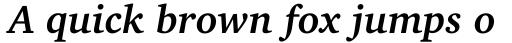 Charter BT Std Bold Italic OSF sample