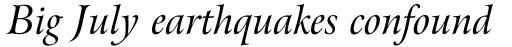Arrus BT Std Italic OSF sample