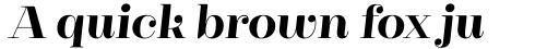 Cagliari Extra Bold Italic sample