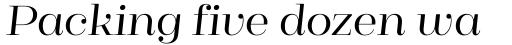 Cagliari Regular Italic sample