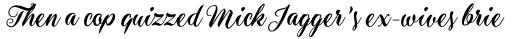 Aster Script sample