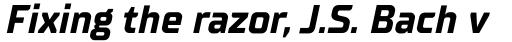 TT Supermolot Neue Bold Italic sample