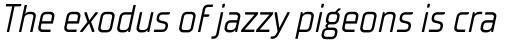 TT Supermolot Neue Condensed Italic sample