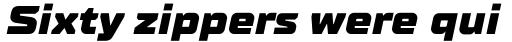 TT Supermolot Neue Expanded Black Italic sample