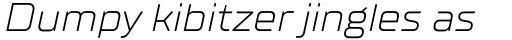 TT Supermolot Neue Expanded Light Italic sample