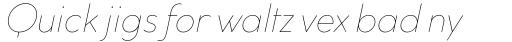 Cocogoose Classic Thin Italic sample