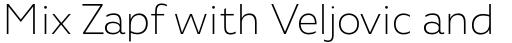 Agile Sans Extra Light sample