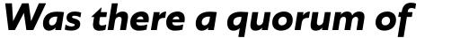 Agile Sans Bold Italic sample
