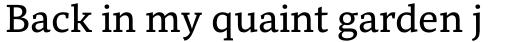 Mundo Serif Regular sample